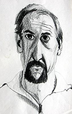 Guy Berthou . Auto-Portrait